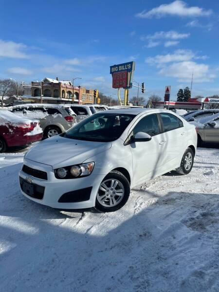 2012 Chevrolet Sonic for sale at Big Bills in Milwaukee WI