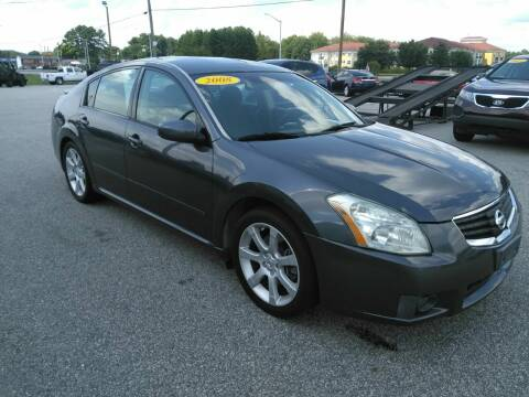 2008 Nissan Maxima for sale at Kelly & Kelly Supermarket of Cars in Fayetteville NC