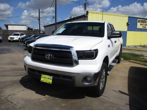 2012 Toyota Tundra for sale at Metroplex Motors Inc. in Houston TX