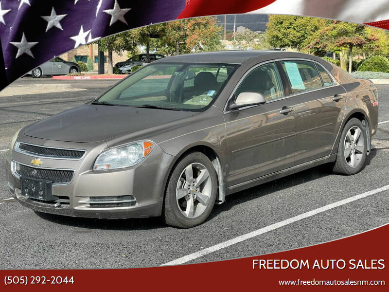 2011 Chevrolet Malibu for sale at Freedom Auto Sales in Albuquerque NM