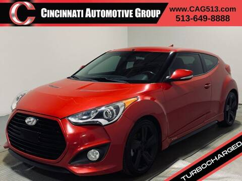 2014 Hyundai Veloster for sale at Cincinnati Automotive Group in Lebanon OH