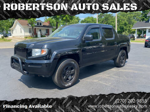 2007 Honda Ridgeline for sale at ROBERTSON AUTO SALES in Bowling Green KY