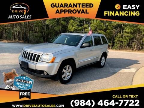 2010 Jeep Grand Cherokee for sale at Drive 1 Auto Sales in Wake Forest NC