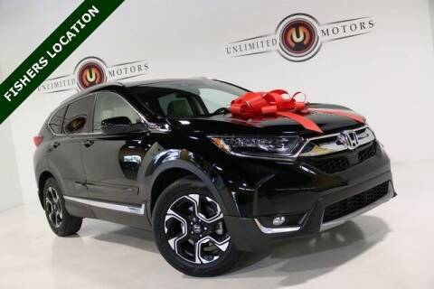 2017 Honda CR-V for sale at Unlimited Motors in Fishers IN