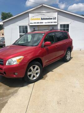 2008 Toyota RAV4 for sale at COLUMBUS AUTOMOTIVE in Reynoldsburg OH