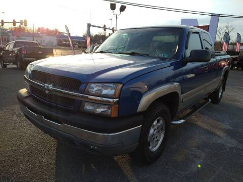 2003 Chevrolet Silverado 1500 for sale at P J McCafferty Inc in Langhorne PA