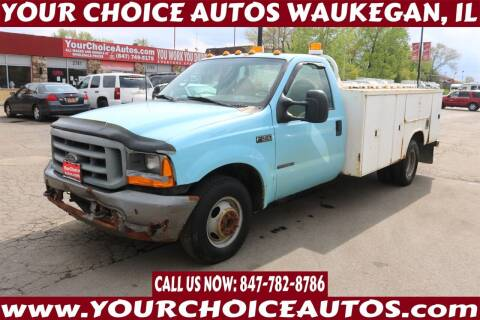 2000 Ford F-350 Super Duty for sale at Your Choice Autos - Waukegan in Waukegan IL