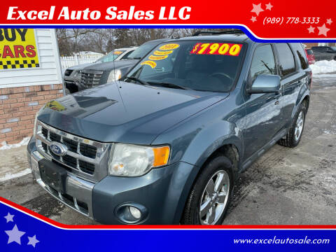2011 Ford Escape for sale at Excel Auto Sales LLC in Kawkawlin MI
