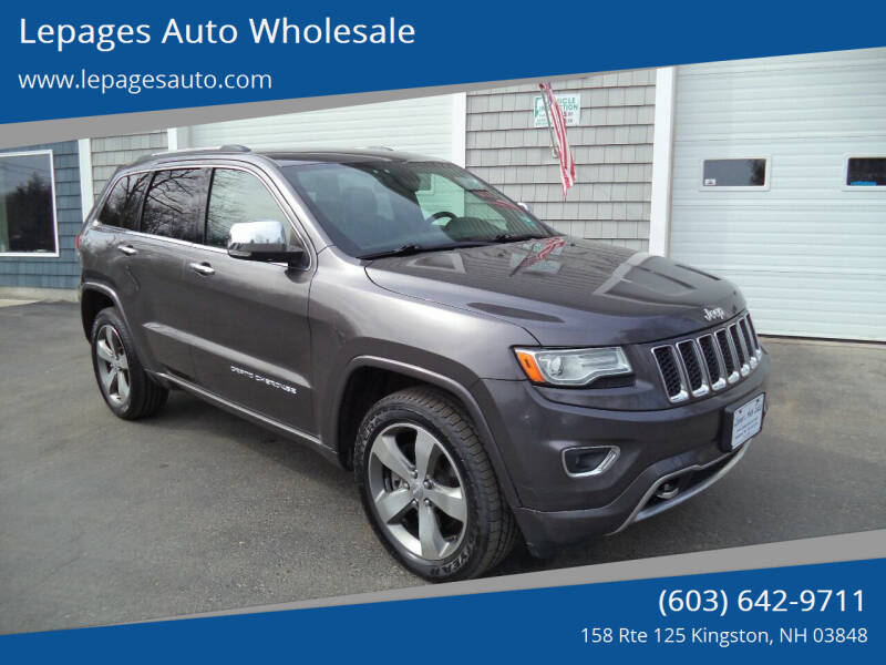 2015 Jeep Grand Cherokee for sale at Lepages Auto Wholesale in Kingston NH