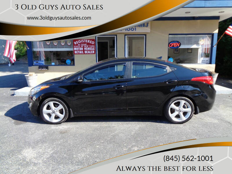 2012 Hyundai Elantra for sale at 3 Old Guys Auto Sales in Newburgh NY
