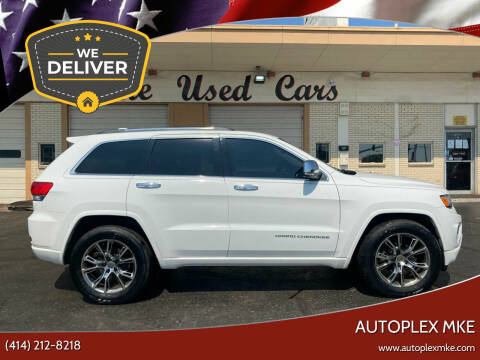 2015 Jeep Grand Cherokee for sale at Autoplexmkewi in Milwaukee WI