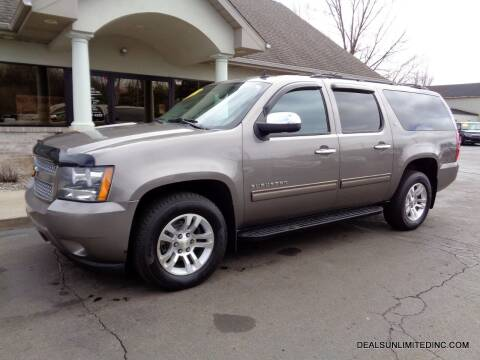 2012 Chevrolet Suburban for sale at DEALS UNLIMITED INC in Portage MI