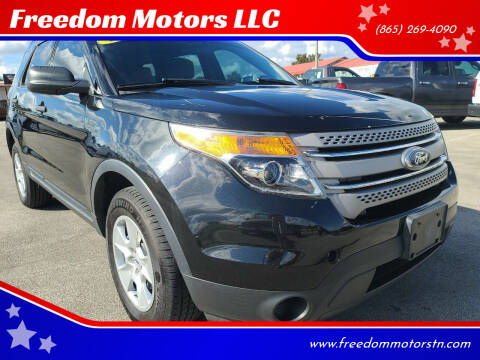 2013 Ford Explorer for sale at Freedom Motors LLC in Knoxville TN