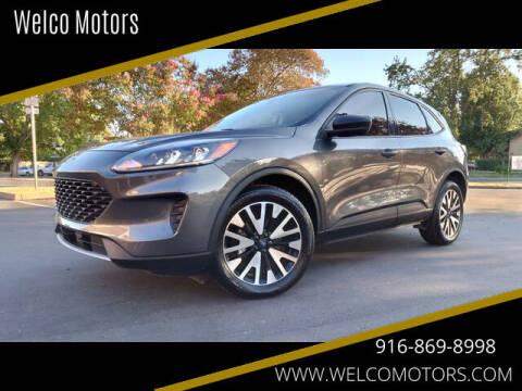 2020 Ford Escape for sale at Welco Motors in Rancho Cordova CA
