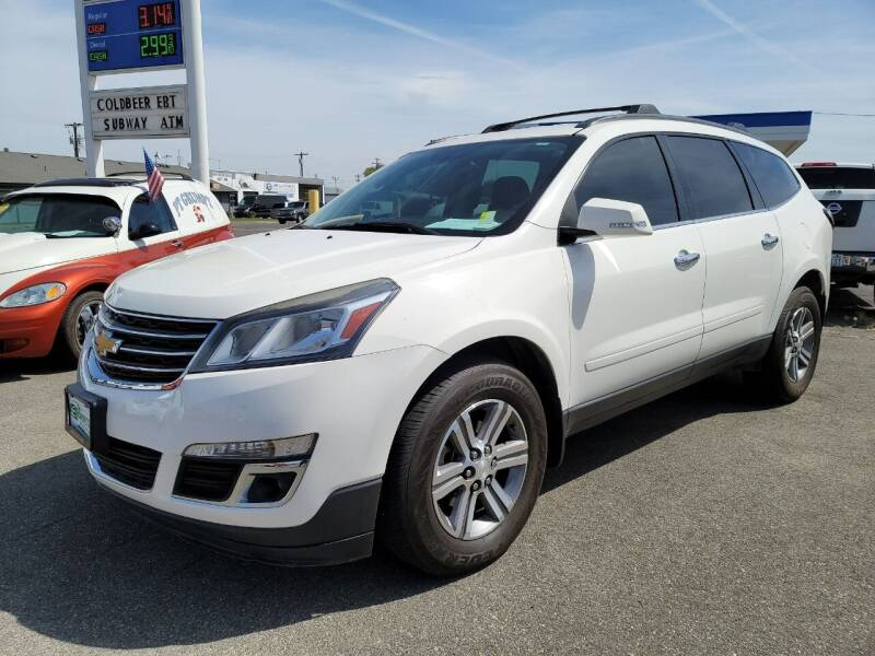 2015 Chevrolet Traverse for sale at Artistic Auto Group, LLC in Kennewick WA