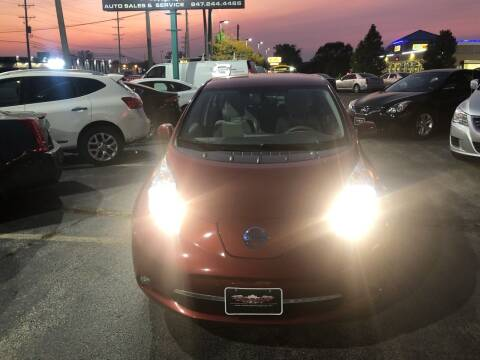 2012 Nissan LEAF for sale at Washington Auto Group in Waukegan IL
