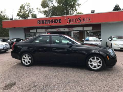 2005 Cadillac CTS for sale at RIVERSIDE AUTO SALES in Sioux City IA