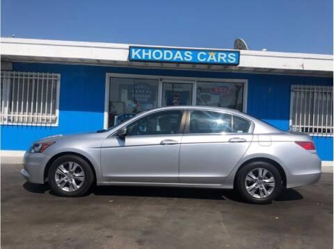 2012 Honda Accord for sale at Khodas Cars in Gilroy CA