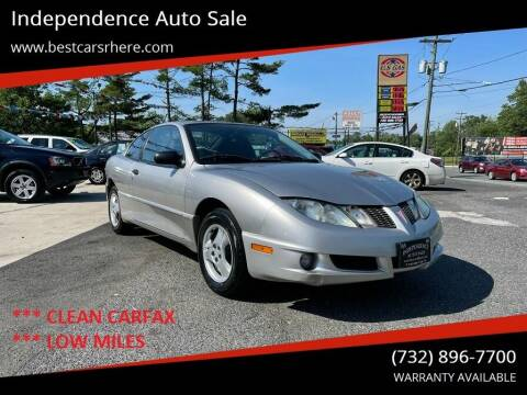 2005 Pontiac Sunfire for sale at Independence Auto Sale in Bordentown NJ