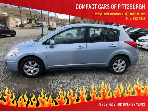 2009 Nissan Versa for sale at Compact Cars of Pittsburgh in Pittsburgh PA