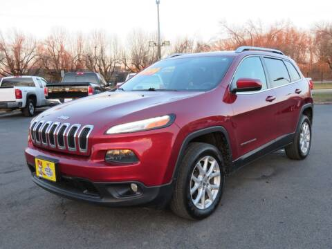 2014 Jeep Cherokee for sale at Low Cost Cars North in Whitehall OH