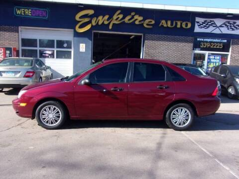 2006 Ford Focus for sale at Empire Auto Sales in Sioux Falls SD