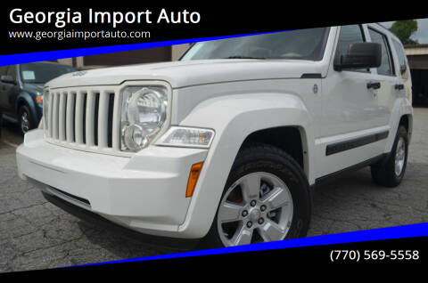 2010 Jeep Liberty for sale at Georgia Import Auto in Alpharetta GA
