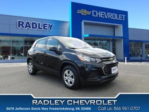 2018 Chevrolet Trax for sale at Radley Cadillac in Fredericksburg VA