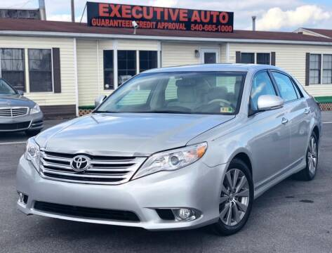 2011 Toyota Avalon for sale at Executive Auto in Winchester VA