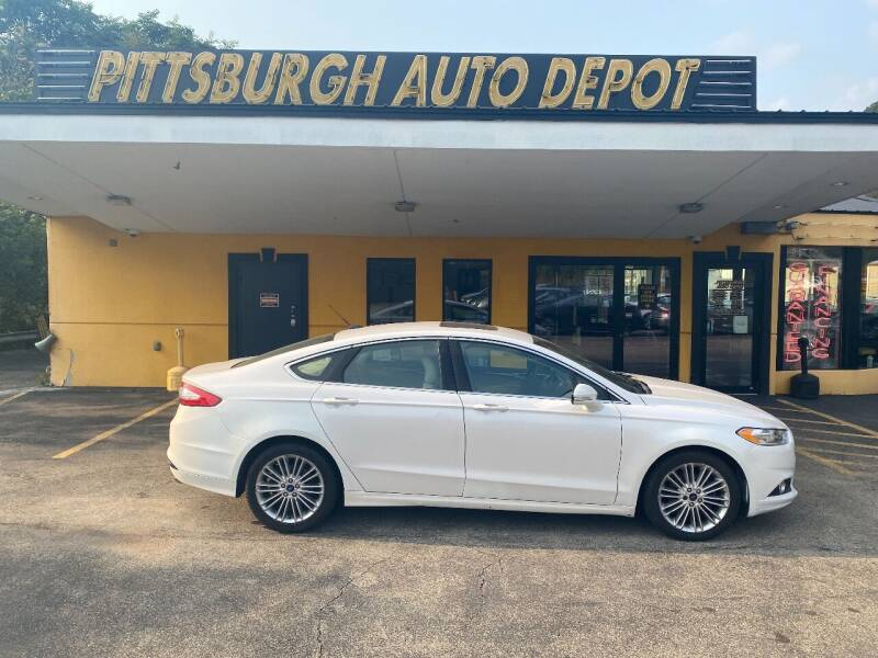 2016 Ford Fusion for sale at Pittsburgh Auto Depot in Pittsburgh PA