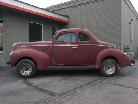 1940 Ford STANDARD BUSINESS  CPE for sale at Clawson Auto Sales in Clawson MI