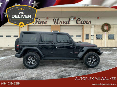 2018 Jeep Wrangler Unlimited for sale at Autoplex Milwaukee in Milwaukee WI