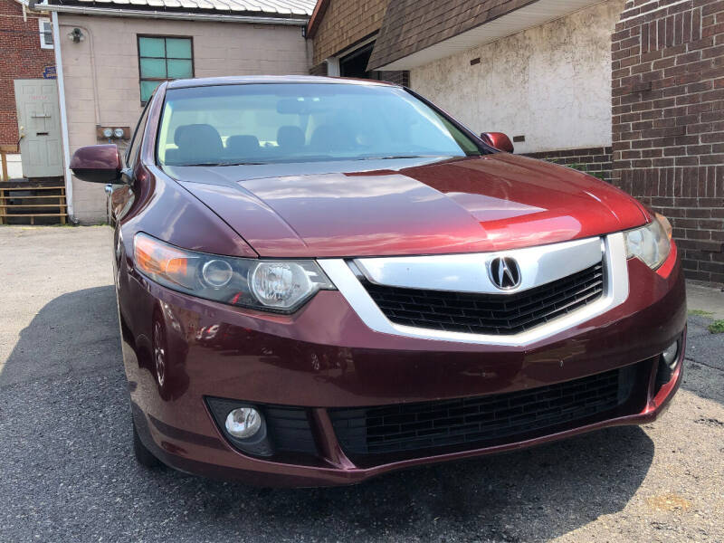2010 Acura TSX for sale at Centre City Imports Inc in Reading PA