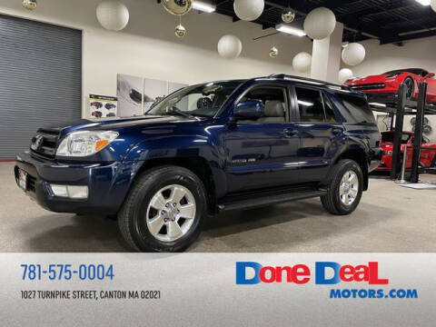 2005 Toyota 4Runner for sale at DONE DEAL MOTORS in Canton MA