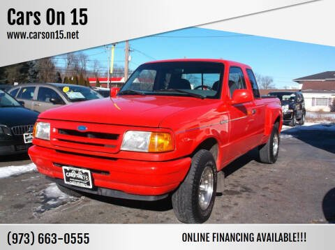 1994 Ford Ranger for sale at Cars On 15 in Lake Hopatcong NJ