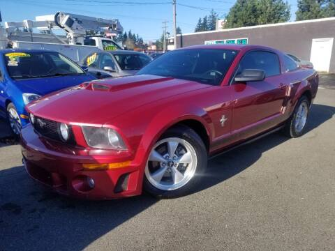 2007 Ford Mustang for sale at SS MOTORS LLC in Edmonds WA