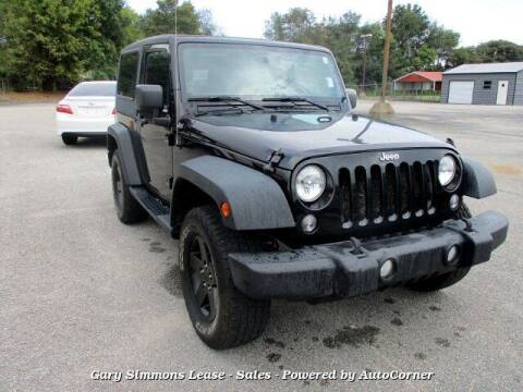 2014 Jeep Wrangler for sale at Gary Simmons Lease - Sales in Mckenzie TN