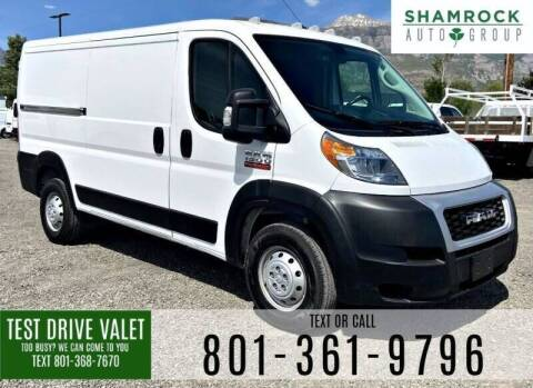 2020 RAM ProMaster Cargo for sale at Shamrock Group LLC #1 in Pleasant Grove UT