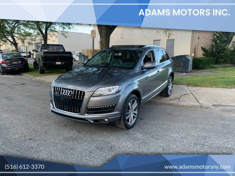 2014 Audi Q7 for sale at Adams Motors INC. in Inwood NY