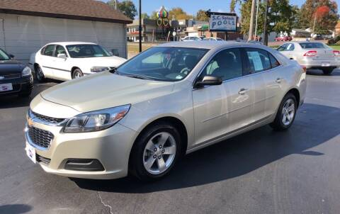 2015 Chevrolet Malibu for sale at County Seat Motors in Union MO