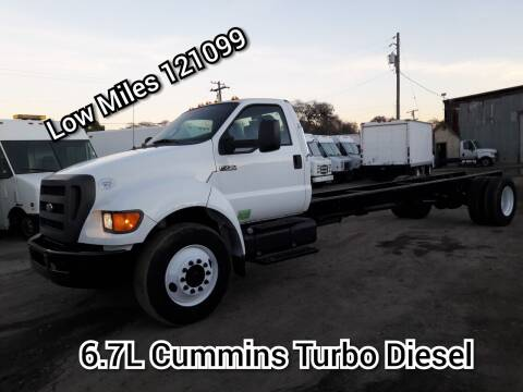 2013 Ford F-750 Super Duty for sale at DOABA Motors in San Jose CA