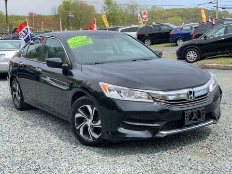 2016 Honda Accord for sale at A&M Auto Sale in Edgewood MD