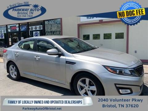 2015 Kia Optima for sale at PARKWAY AUTO SALES OF BRISTOL - PARKWAY AUTO JOHNSON CITY in Johnson City TN
