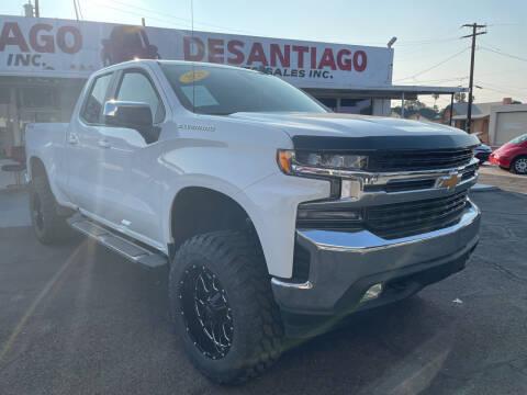 2020 Chevrolet Silverado 1500 for sale at DESANTIAGO AUTO SALES in Yuma AZ