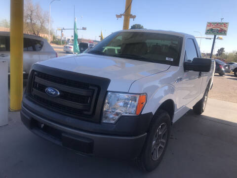 2014 Ford F-150 for sale at Fiesta Motors Inc in Las Cruces NM