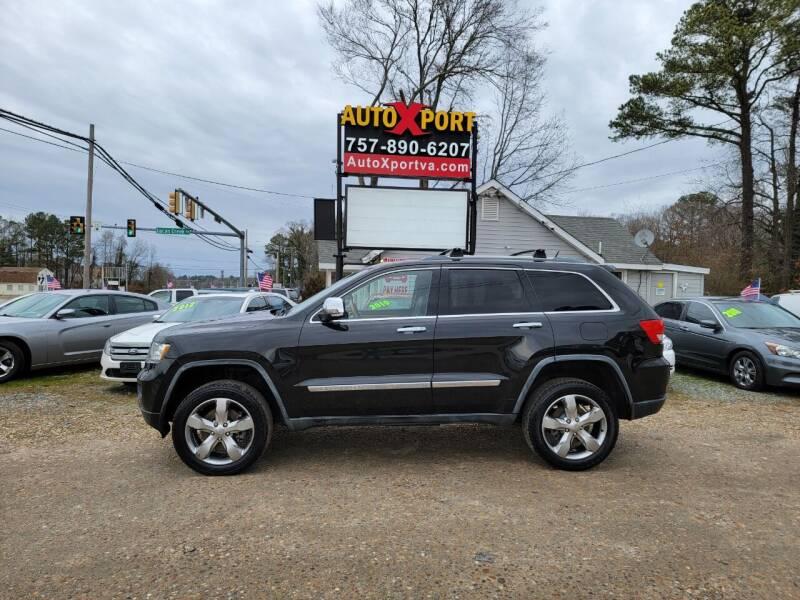 2012 Jeep Grand Cherokee for sale at Autoxport in Newport News VA