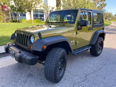 2007 Jeep Wrangler for sale at Donada  Group Inc in Arleta CA