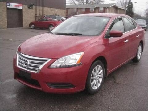 2013 Nissan Sentra for sale at ELITE AUTOMOTIVE in Euclid OH