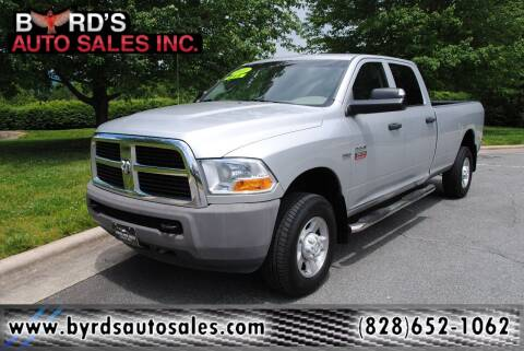 2011 RAM Ram Pickup 2500 for sale at Byrds Auto Sales in Marion NC