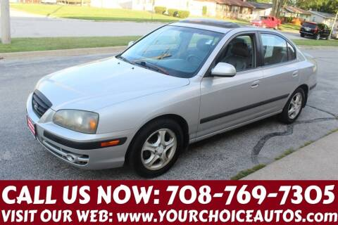 2005 Hyundai Elantra for sale at Your Choice Autos in Posen IL